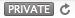 Safari Private tag icon