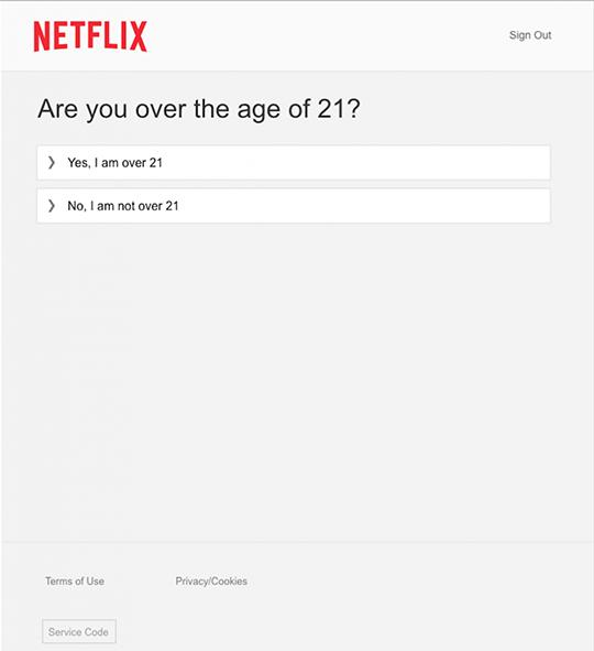 How do I verify my age?